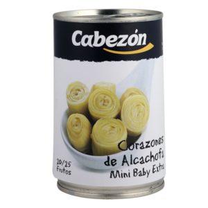 Alcachofas Enteras 20-25 Frutos lata 1/2 kg