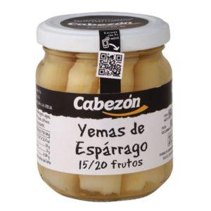Yemas de espárragos 15-70 Frutos frasco 212