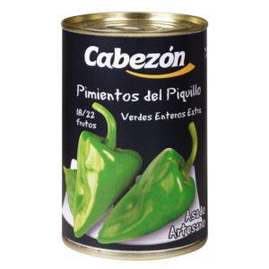 Pimientos del piquillo verdes 18-22 Frutos lata 1/2 kg