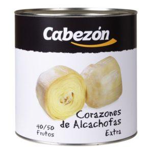Alcachofas enteras lata 3 kg