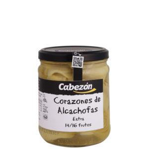 Alcachofas Enteras 8-12 Frutos frasco 460