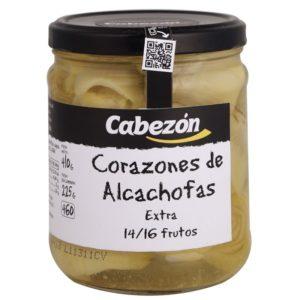 Alcachofas Enteras 14-16 Frutos frasco 460