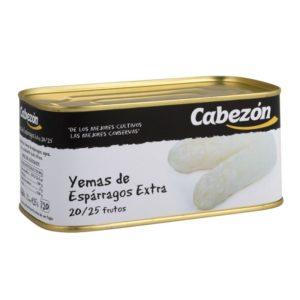 Yemas de Espárragos 20-25 Frutos lata rect 1 kg bajo