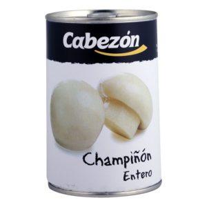 Champiñón Entero lata 1-2 kg