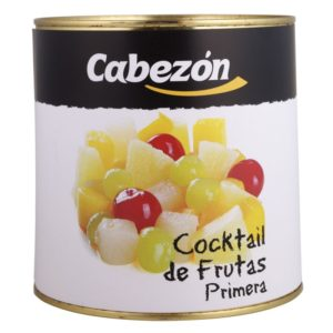Coctel de frutas lata 3 kg