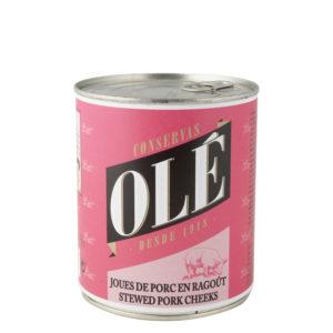 Carrilleras de Cerdo Olé