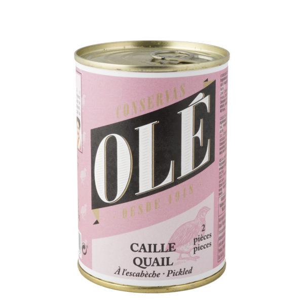 Cordoniz Escabechada 2 uds Olé