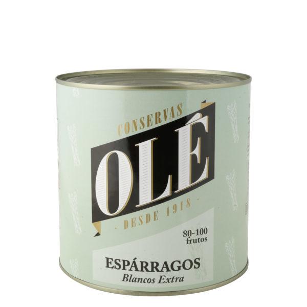 Espárragos Blancos Extra Lata 80-100 frutos Olé