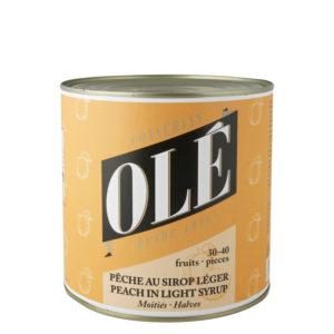 Melocotón en almíbar mitades 34-40 frutos Olé
