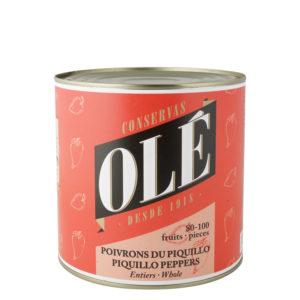 Pimientos del Piquillo Enteros 80-100 frutos Olé