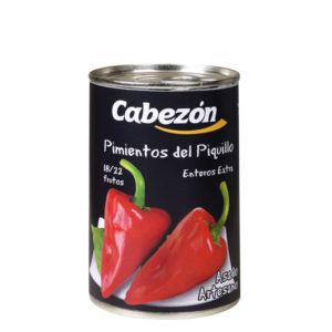 Pimientos del piquillo 18-22 Frutos lata 1/2 kg